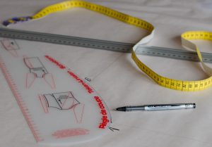 drawing sewing pattern