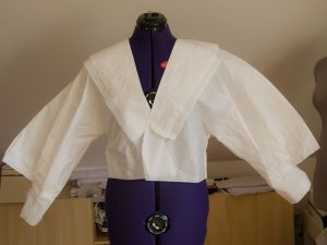 My first try to repeat the blouse